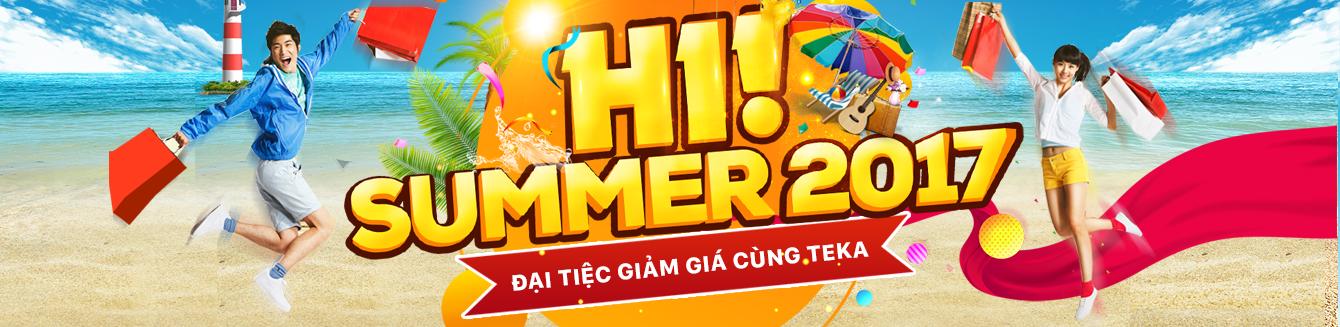 HI! Summer 2017 - Đại tiệc giảm giá cùng Teka