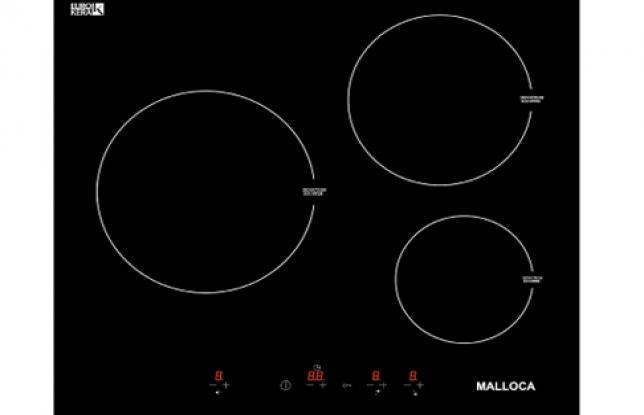 Bếp Từ Malloca MH 03I, Malloca MH 03I, Mặt Kính Eurokera Sang Trọng