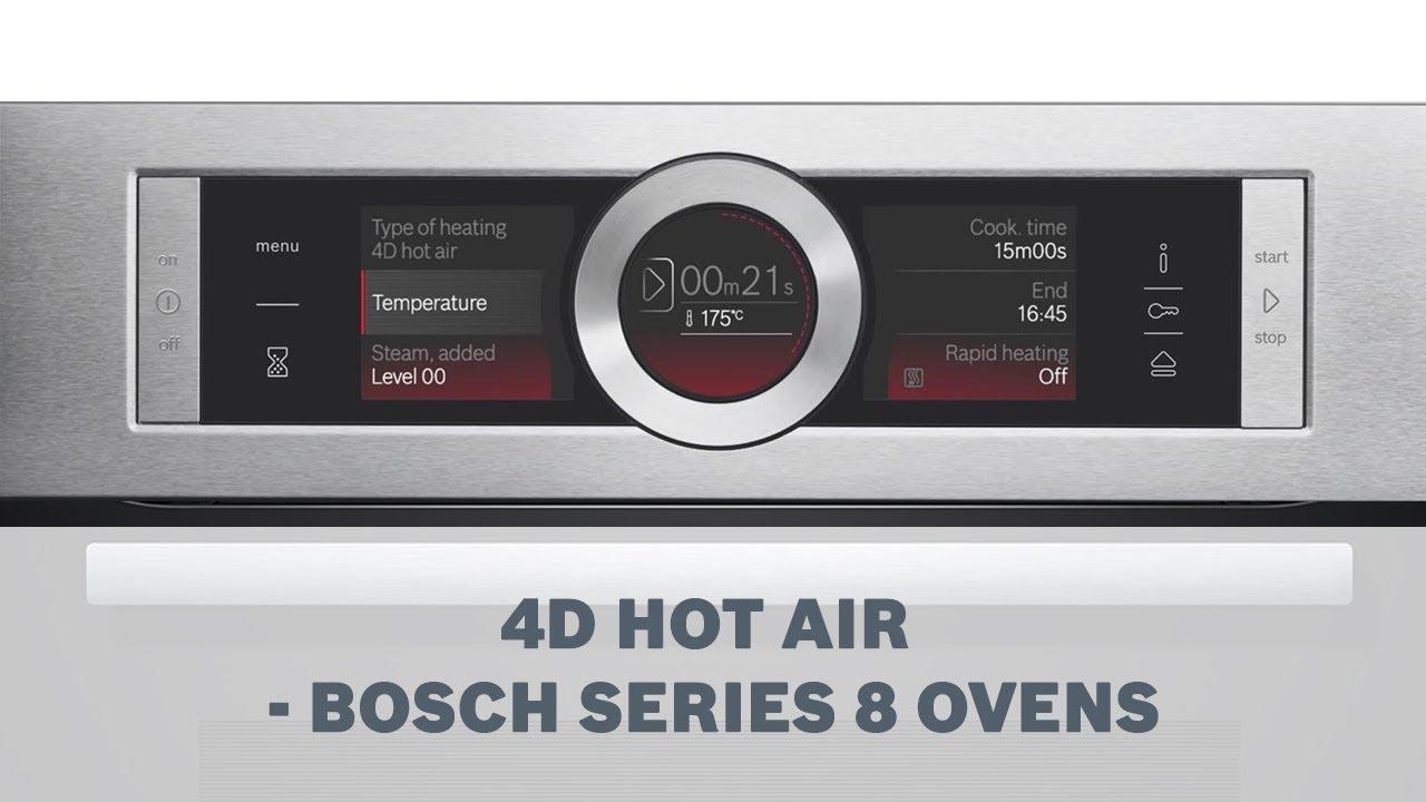 Chức năng nướng 4D Hotair cao cấp chỉ có ở Bosch