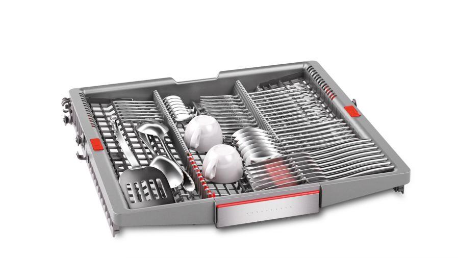 Ngăn kéo có dao kéo Vario3 giúp tăng tính linh hoạt cho việc rửa và sử dụng không gian tốt hơn