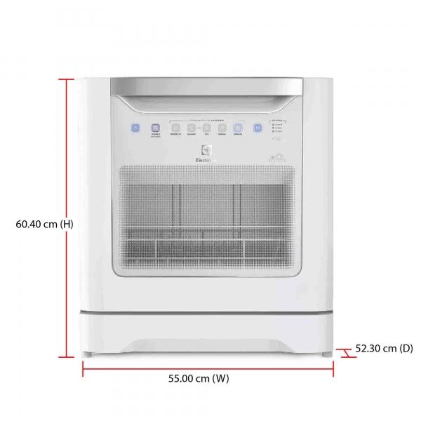 Máy Rửa Bát Mini Electrolux ESF6010BW, Electrolux ESF6010BW, Tiện Lợi