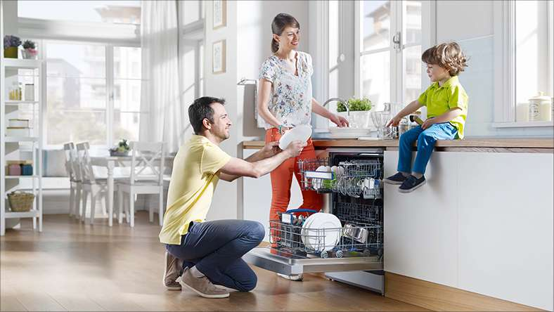 10 lỗi thường gặp khi sử dụng máy rửa bát Bosch
