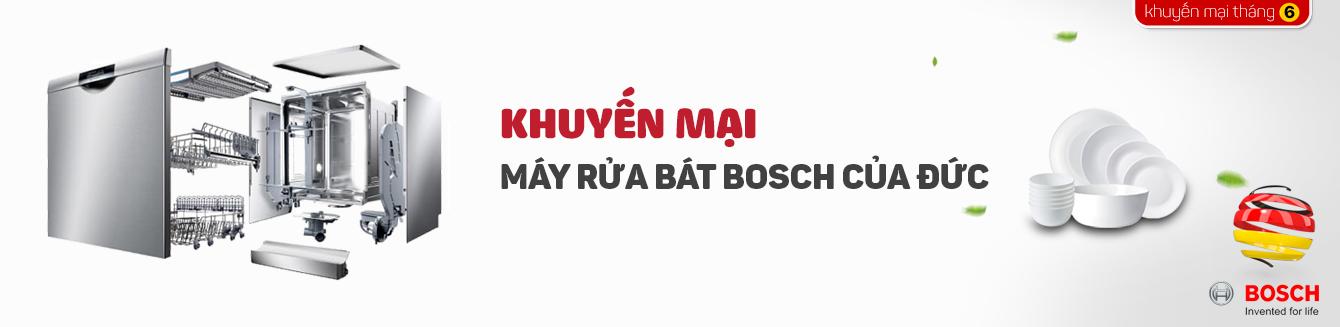 Khuyến mại máy rửa bát Bosch của Đức