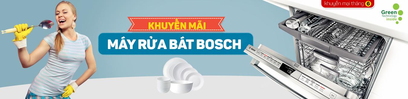 Khuyến mãi máy rửa bát Bosch