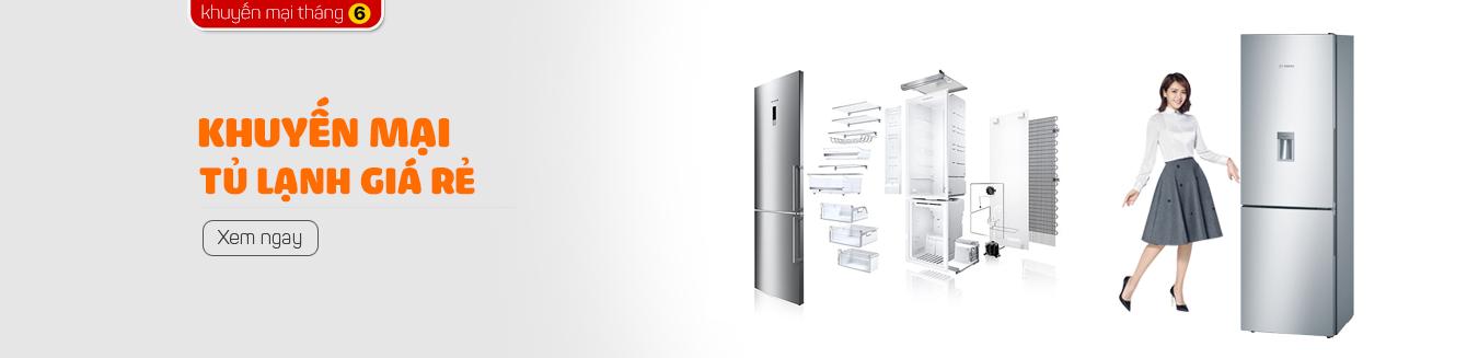 Khuyến mại tủ lạnh giá rẻ