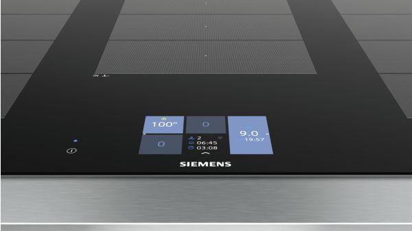 Bếp Từ Siemens EX975KXW1E, Siemens EX975KXW1E Sáng Tạo Với 3 Vùng Flex