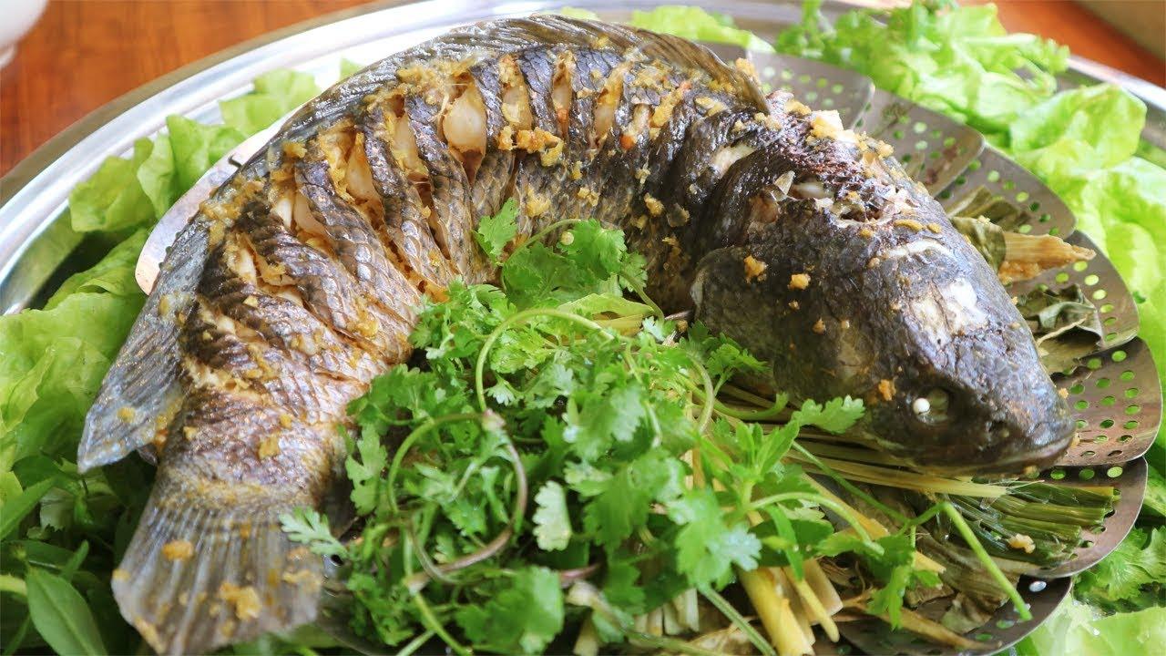 Thành quả món cá hấp xì dầu bằng lò vi sóng cực kỳ bắt mắt