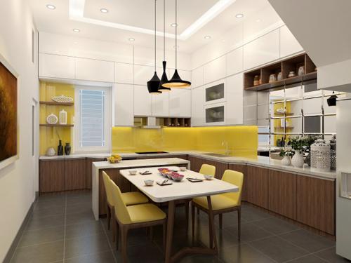 Hé Lộ Chính Xác Về : Diện Tích Phòng Bếp Tiêu Chuẩn Nhất Hiện Nay