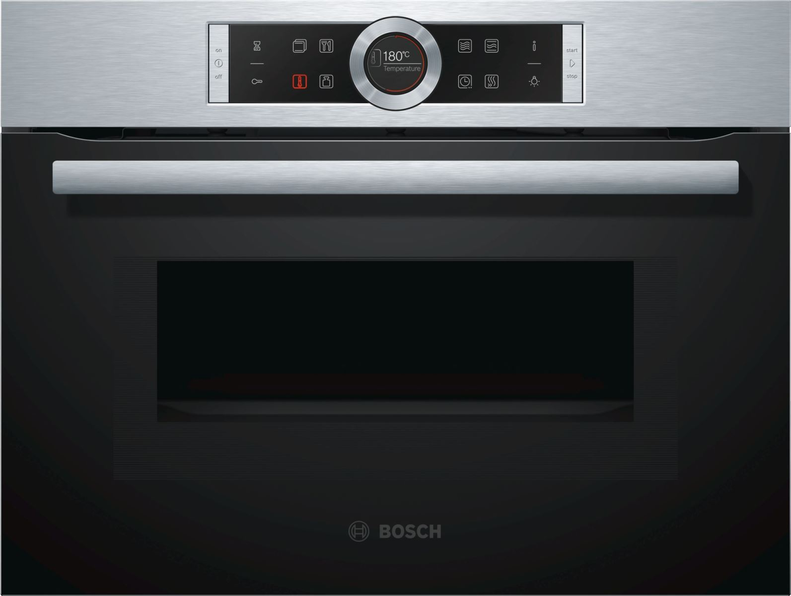 Lò Nướng Bosch CMG633BS1 Tích Hợp Chức Năng Vi Sóng Hiện Đại, Tiện Ích