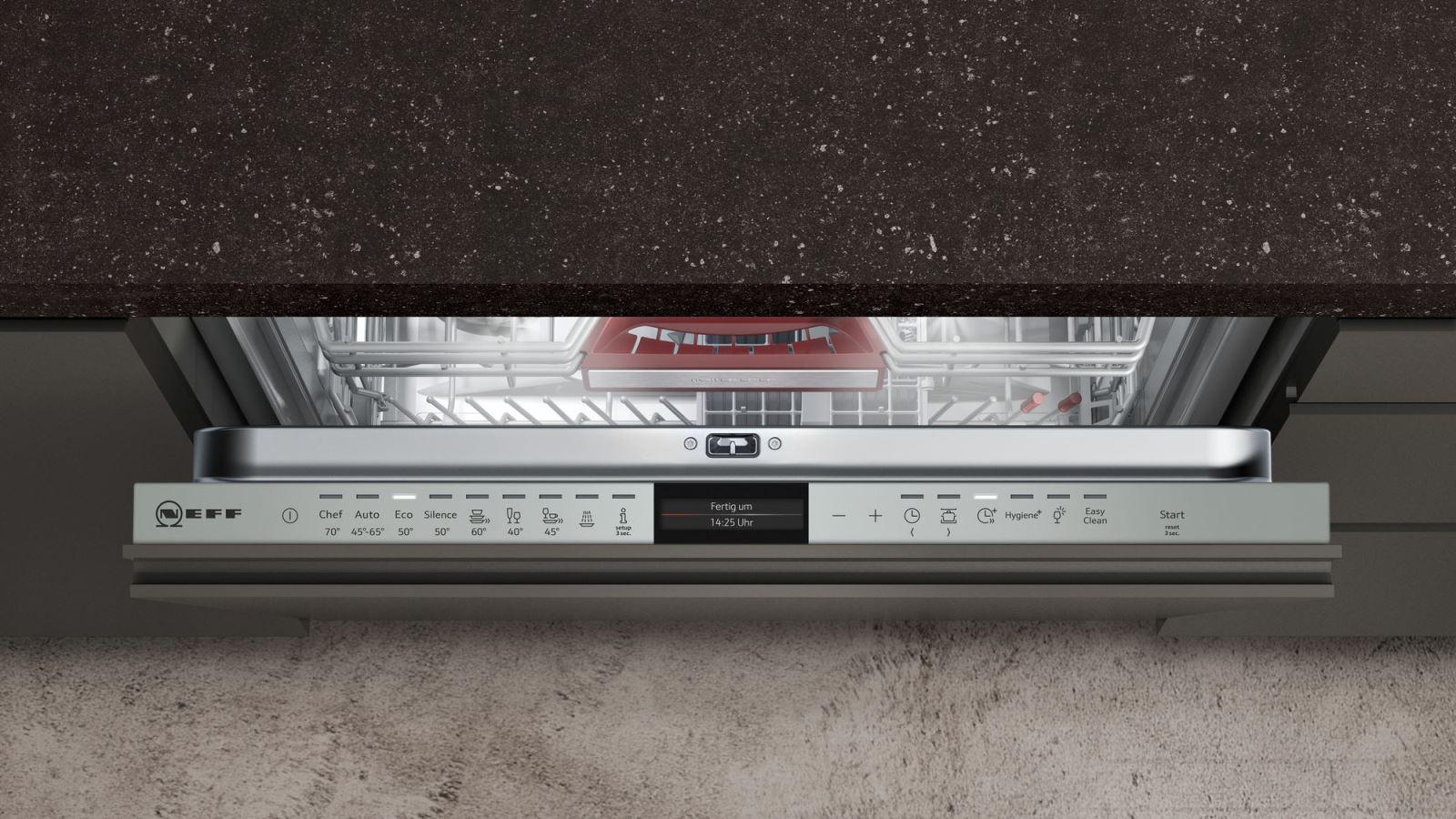 Máy Rửa Bát Neff S517T80X5E Rửa Sạch Sấy Cực Khô Với Công Nghệ Zeolith
